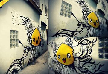 Manilan Birdie by theyellowdino