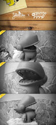 The Dino Prototype by theyellowdino