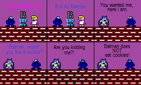 B is for Batman by XMSB