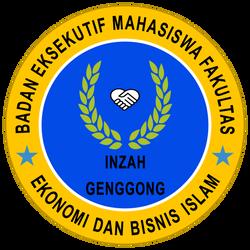 Logo BEM Fakultas Ekonomi Dan Bisnis Islam INZAH by Zuket-Creation