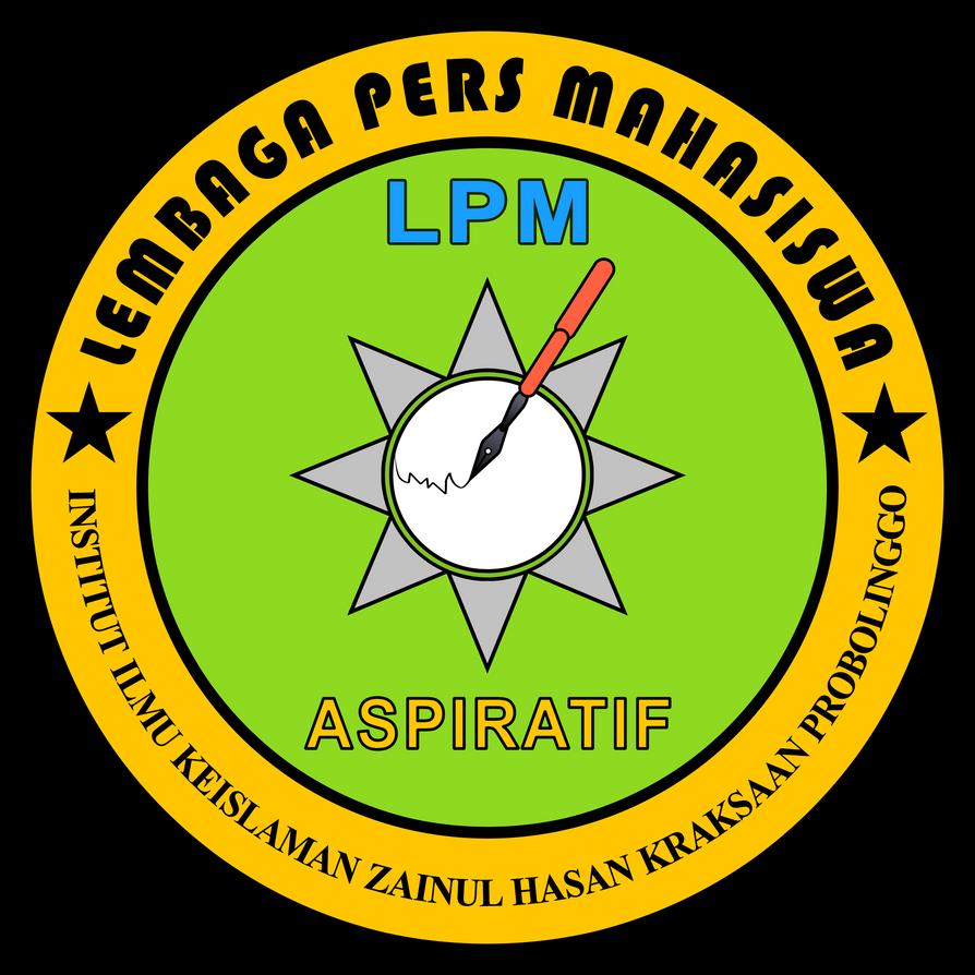 Logo LPM Lembaga Pers Mahasiswa INZAH By  Zuket by Zuket-Creation
