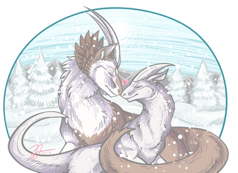 Arpg: Keeping you warm by RoutArt