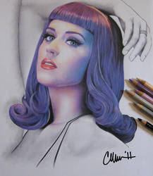 Katy Perry Drawing by Live4ArtInLA
