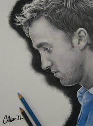 Tom Felton Drawing by Live4ArtInLA
