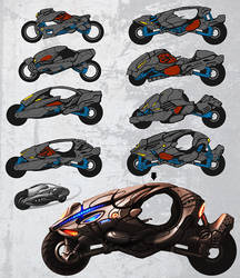 Bike concept by d1sk1ss