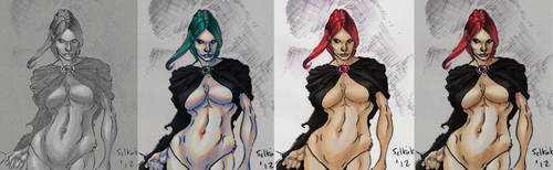 Goblin Queen Forever by Selkirk X4 (COLORS) by carol-colors