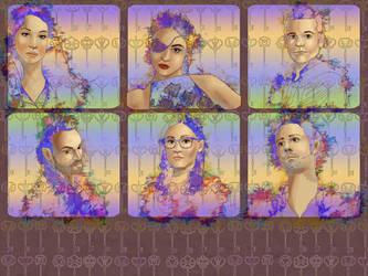 Magicians Fan Art by carol-colors