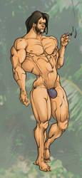 Wolverine in Savage Land by Selkirk (COLORS) by carol-colors