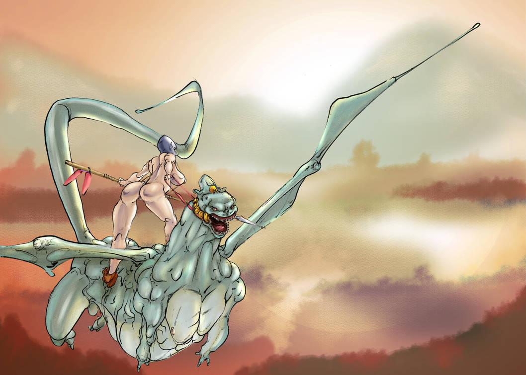 Winged Adventure by Selkirk (COLORS) by carol-colors