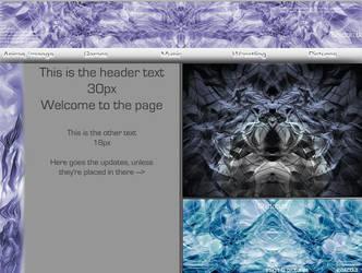 Webpage layout thing by KanaDragonheart