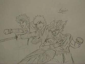 My Favorite Shonen Jump Heroes by Danielfs5