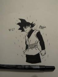 Inktober Day 27 Goku Black by Danielfs5