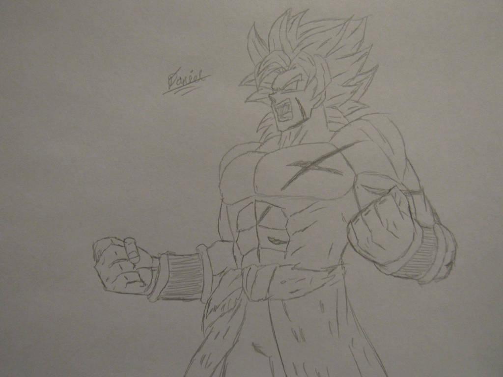 Broly Sketch by Danielfs5