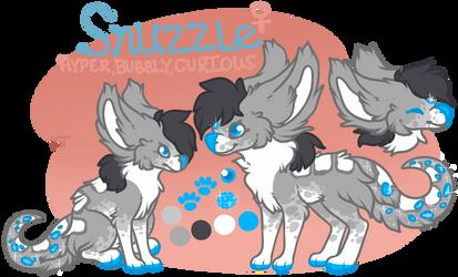 Snuzzle ref! by Shantayz-Shan