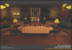 Cluedo Billiards Room by mryogesh123