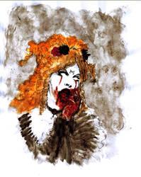 Lady Vampire... by BlueMillenium