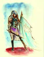 Guardian of Peace... by BlueMillenium