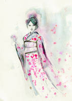 Sweet Sakura... by BlueMillenium