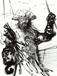Captain Coppereye... by BlueMillenium