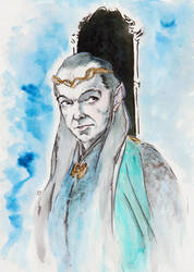 Lord Elrond... by BlueMillenium