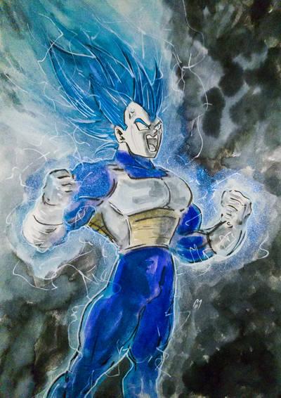 Vegeta Super by BlueMillenium