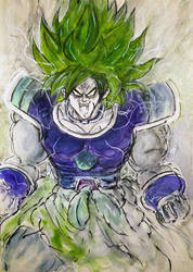 Broly... by BlueMillenium