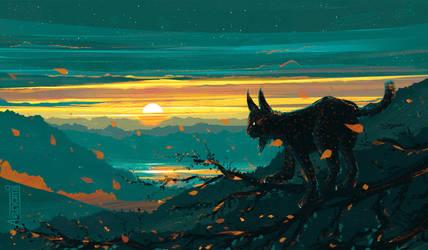 Lynx by Aenami