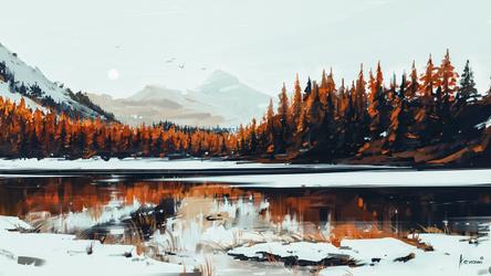 Serenity by Aenami