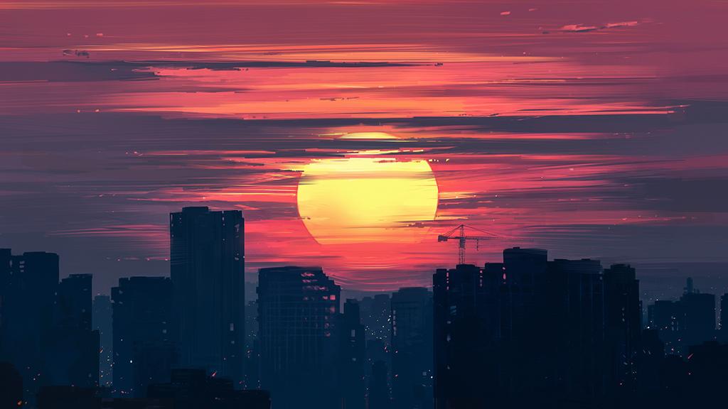 Dawn by Aenami