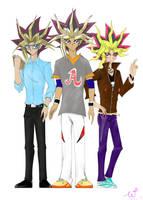Muto's three bros...O//_//O by WDSlyugi