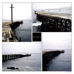 An old pier by euronymus-photo