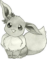 Eevee Sketch by crystia77