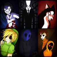 Creepy guys by Riikaruh