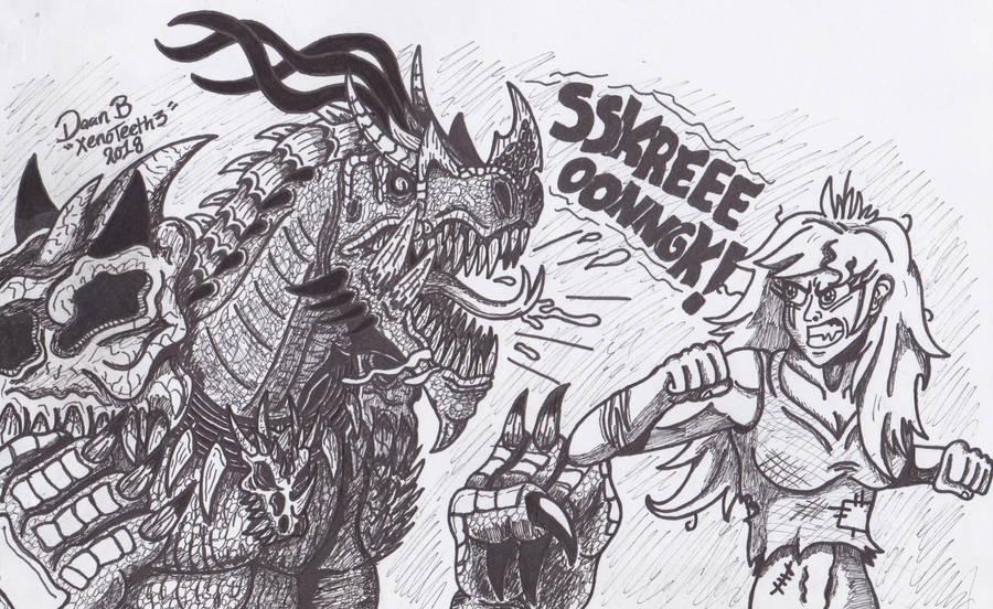 Insert Mortal Kombat theme by XenoTeeth3