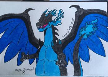 Mega Charizard , Biatch! by XenoTeeth3