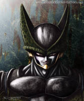 Cell from Dragonball by AtomiccircuS
