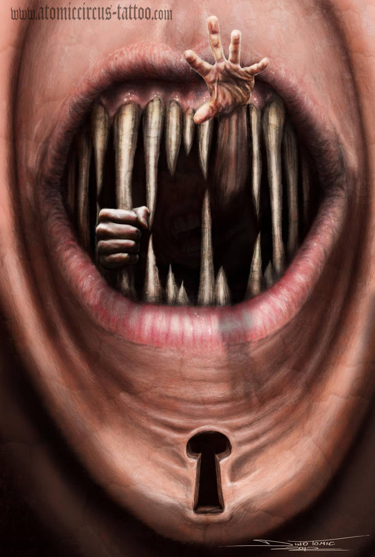 mouth prison by AtomiccircuS