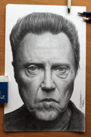 Christopher Walken by AtomiccircuS