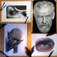 Speed drawing videos by AtomiccircuS