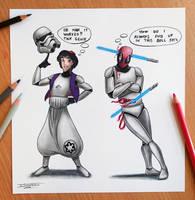 Aladdins wish drawing by AtomiccircuS