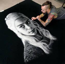 Daenerys SALT portrait by AtomiccircuS