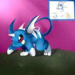 Pokemon - Dragonchu! by HelgaButtercup