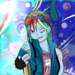 My little pony - Rainbow Dash by HelgaButtercup