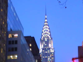 Chrysler Building by bluehazerd
