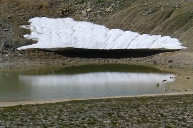 melting snow by iram