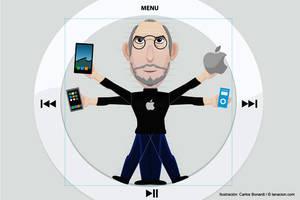 Steve Jobs artista tecnologico by Bonadesign