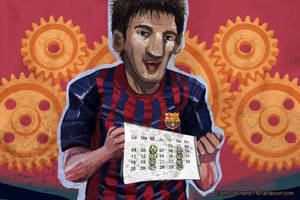 Messi by Bonadesign