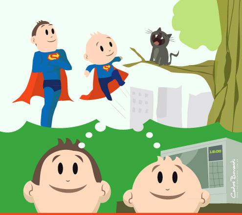 Ilustraciones para campania publicitaria infantil by Bonadesign