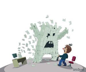 Monster Paper by Bonadesign