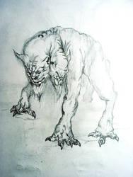 stalker monster by dr9amer